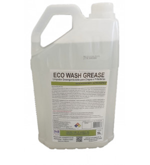 Desincrustante Para Chapas Sem Enxague Eco Wash Grease 5L Skill