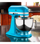 Batedeira Stand Mixer Artisan 4.8L Bowl Inox Cryst Blue 127V KitchenAid